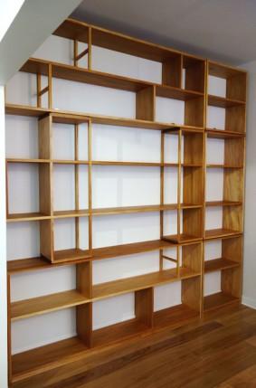 Custom made bookcase