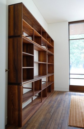 Tasmanian Blackwood shelves