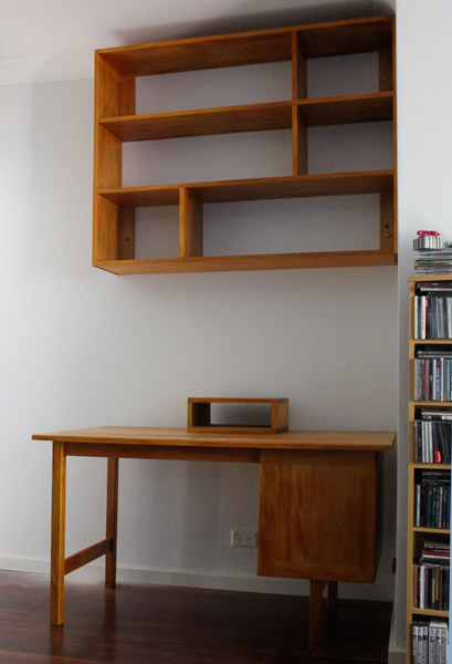 Floating Desk Shelves http://nathanielgrey.com.au/