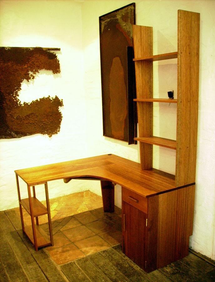 Custom made maple desk