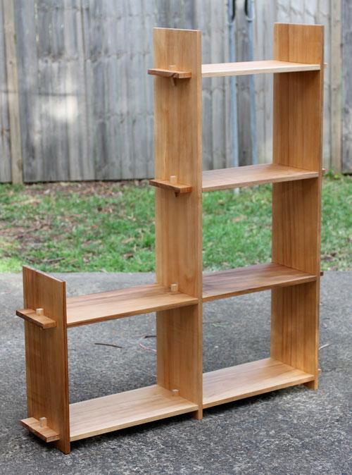 Flat pack bookshelves, Sydney | Nathaniel Grey