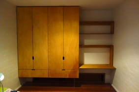 Custom made floating wardrobes