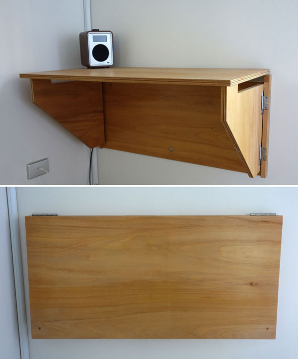 Jeff S Fold Down Desk Sydney Nathaniel Grey
