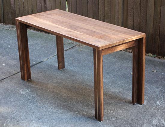 Hope's desk / table
