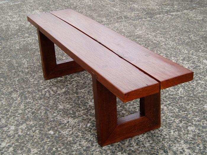 ironbark bench