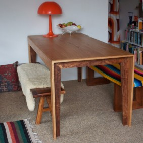 Custom made dining table by Nathaniel Grey, Sydney