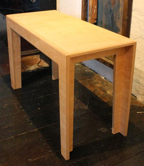 Custom made plywood kid's desk