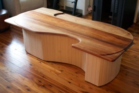 Custom made coffee table by Nathaniel Grey, Sydney