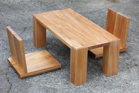 Custom made Zen table