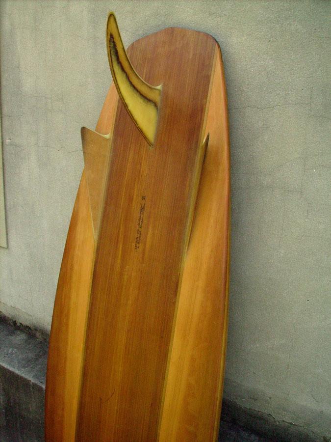 "5'8"" Displaced Bonzer Stubby fin detail"