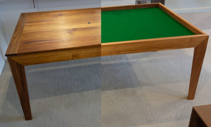 bespoke games table / dining table