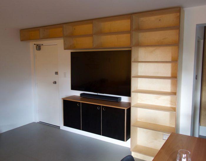 custom wall unit