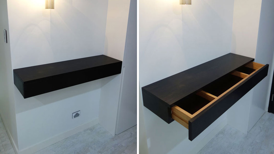 floating console