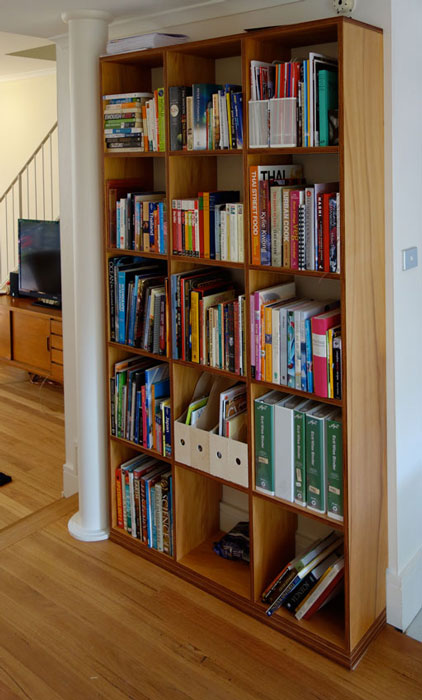 kauri pine plywood shelves
