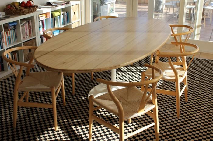 Custom made table top