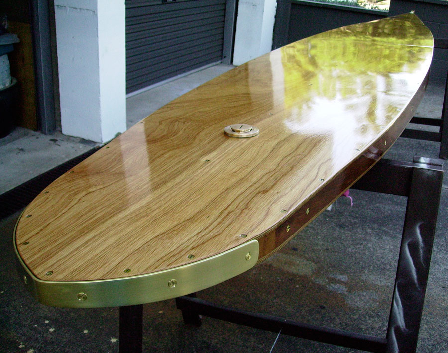 14' Paddle board – Replica 1937 Tom Blake paddle board